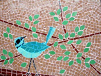 First Bird Mosaic  mosaic