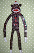 Sock Monkey mosaic