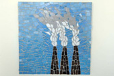 Smokestacks mosaic