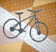bicycle mosaic