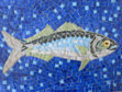 Bluefish mosaic