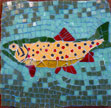 Brown Trout mosaic