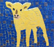 Yellow Calf mosaic
