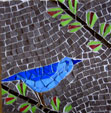 christian's bird mosaic