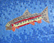 California Trout mosaic