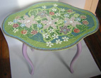 Flower End Table mosaic