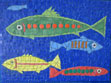 Happy Fish mosaic