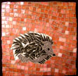 little hedgehog mosaic