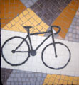 Scott's Bike mosaic