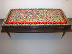 Mosaic Top Coffee Table mosaic