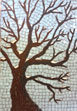 winter tree mosaic